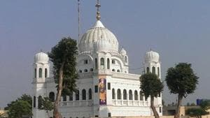 Pakistan is building the corridor from the Indian border to Gurdwara Darbar Sahib in Kartarpur, while the other part—from Dera Baba Nanak in Gurdaspur district up to the border—is being constructed by India(Photo: Twitter/@HarsimratBadal)