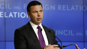 McAleenan served in the role for only six months, replacing Kirstjen Nielsen, who sat at the helm of the powerful agency for 18 months.(Reuters image)