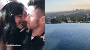 Priyanka Chopra and Nick Jonas enjoy their time in Las Vegas.