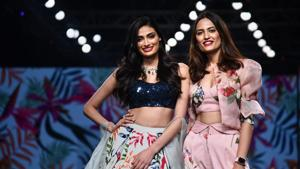 Lotus Make-up India Fashion Week: Rakul, Athiya, Sobhita play showstopper on day three