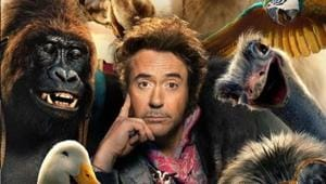Robert Downey Jr is not a people person in first poster for Dolitte. Check it out before trailer drops