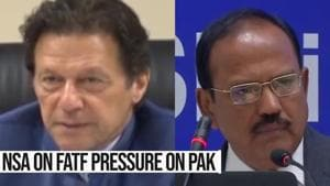 Watch: NSA Ajit Doval on terror financing watchdog FATF lens on Pakistan