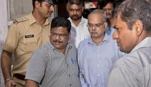 Joy Thomas is one of the four people arrested in the Rs 4,355 crore Punjab and Maharashtra Co-operative (PMC) bank fraud case.(Kunal Patil/ HT Photo)