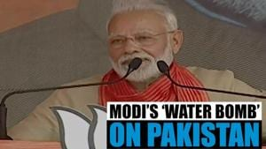 Watch l Will not allow India's water to flow to Pakistan: PM Modi in Haryana