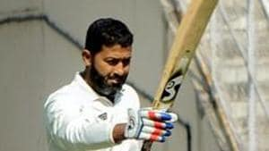 File image of Vidarbha cricketer Wasim Jaffer.(PTI)