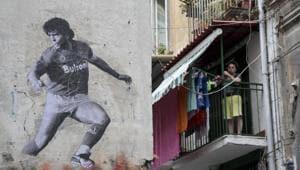 Argentine former football player Diego Armando Maradona(Getty Images)