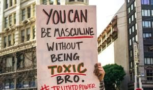 Asking for help, demonstrating caring behaviour towards themselves and others are undermined by social attitudes that encourage the concept of the alpha male(Shutterstock)