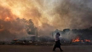 Delhi air gets toxic, NASA's crop burning images point to worse days ahead