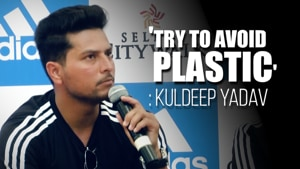 'Indians are least bothered': Kuldeep Yadav urges people to avoid plastic
