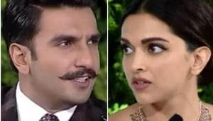 Ranveer Singh calls this Deepika Padukone's 'Is this any time to come home?' glare. See pic