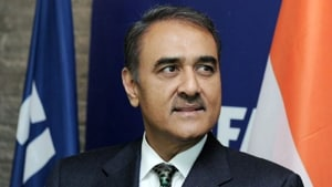 The Enforcement Directorate (ED) has asked Nationalist Congress Party (NCP) leader Praful Patel to appear before it on Friday in connection with a money laundering investigation related to the assets of the late Iqbal Mirchi.(ANI Photo)