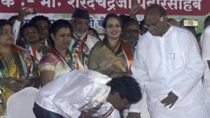 Sharad Pawar 'tears' into BJP govt with onion speech at Hadapsar