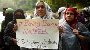Three years on, Najeeb Ahmed's mother awaits justice for son, protests at Jantar Mantar