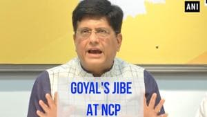 Stories of NCP corruption are legendary: Piyush Goyal | Maharashtra polls
