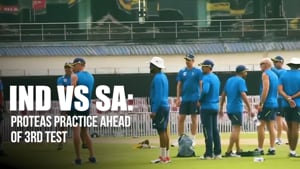 India vs South Africa | Proteas practice ahead of 3rd Test