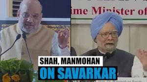 Watch: Amit Shah & Manmohan Singh speak on Savarkar amid Bharat Ratna row