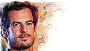 Andy Murray in 2004 was chosen by the BBC as young sportsman of the year at the Sports Personality of the Year Show(ILLUSTRATION: Gajanan Nirphale)