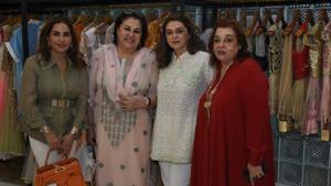 Poonam Bhagat, Veena Malhotra, Mallika Amin and Pallavi Jaikishan.
