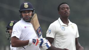 India vs South Africa 3rd Test: Rohit powers hosts to 224/3 on opening ...