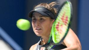 Belinda Bencic of Switzerland in action.(USA TODAY Sports)
