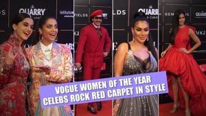 Vogue Women of the Year | Ranveer, Katrina stun on red carpet; Huda Kattan, Kunal Nayyar join