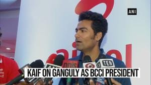 'Right man at the right place at the right time': Kaif on Ganguly as BCCI President