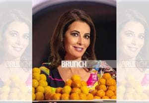 Nigella Lawson, also known as the Queen of Food Porn, is one of the world's best-loved food writer and cooking show host (Photographed exclusively for HT Brunch at The Roseate, New Delhi)