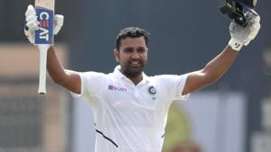 WATCH:Rohit Sharma becomes first Indian to seal 200 with a six