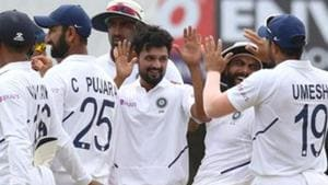 India vs South Africa:Shahbaz Nadeem's wait ends with a classical first wicket