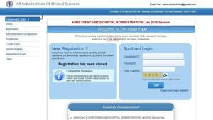 AIIMS DM/MD/MCh admit card released at aiimsexam.org, here's how to download