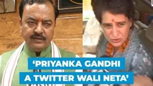 UP Deputy CM hits back at Priyanka Gandhi, calls her 'twitter wali neta'