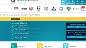 CAT 2019 admit card released at iimcat.ac.in, here's how to download