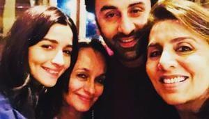 Alia Bhatt's mother Soni Razdan has called the fake wedding card a 'non-issue'.