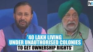 40 lakh people in Delhi's unauthorised colonies to be given ownership rights: Centre
