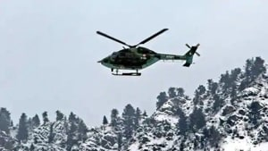 Army helicopter with Northern Army commander on board crashes in J-K's Poonch district, no casualties: Officials(PTI (representative image))