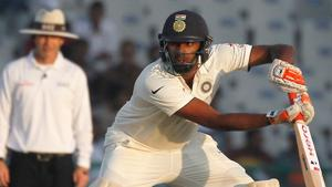 Ravichandran Ashwin of India bats during a test match(Photo by: Deepak Malik/ BCCI/ SPORTZPICS)