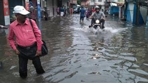 A scene from the worst-hit area in Ernakulam.(HT file photo)