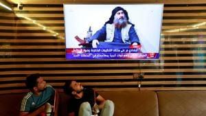 FILE PHOTO: Iraqi youth watch the news of Islamic State leader Abu Bakr al-Baghdadi death, in Najaf, Iraq.(Photo: Reuters)