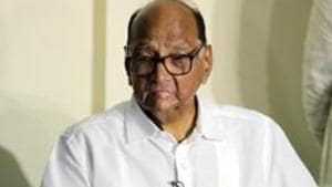 NCP chief Sharad Pawar's attempts to win back Maratha votes that had gone to the ruling combine proved to be a key factor in improving the party's tally(HT Photo)