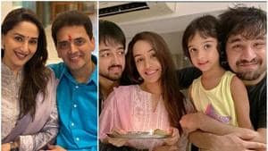Stars like Shraddha Kapoor and Madhuri Dixit shared pictures from their Bhai Dooj celebrations.