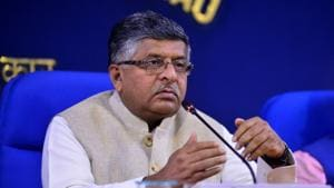 IT minister Ravi Shankar Prasad has sought an explanation from WhatsApp over the latest spyware attack by(HT file photo)