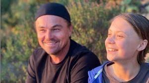 Leonardo DiCaprio with Greta Thunberg.