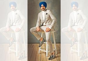 Harbhajan Singh says he is competitive about winning. Styling: Mohita Adhia; Suit, Giorgio Armani; shoes and belt, Brune & Bareskin(Photo: Rohan Shrestha)