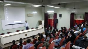 Around 250 students of a south Kolkata school attended the programme which was addressed by startup experts. (Representational image)(HT file)