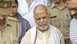 The mother of the Shahjahanpur law student, who has accused former minister Swami Chinmayanand of rape, has written a letter to the Chief Justice of India(PTI)