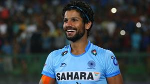 File image of India hockey player Rupinder Pal Singh.(Getty Images)