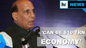 'India can be $10 trillion economy in 10, 15, 20 yrs': Rajnath Singh