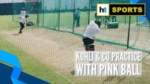 India vs Bangladesh: Kohli & co train with pink balls in Indore to prepare for Day/Night Test