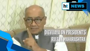 President's rule due to pressure from PM, HM, says Congress' Digvijaya Singh