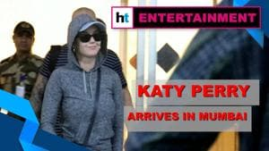 Katy Perry arrives in Mumbai as India gears up for OnePlus Music Festival